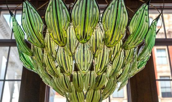 Living chandelier